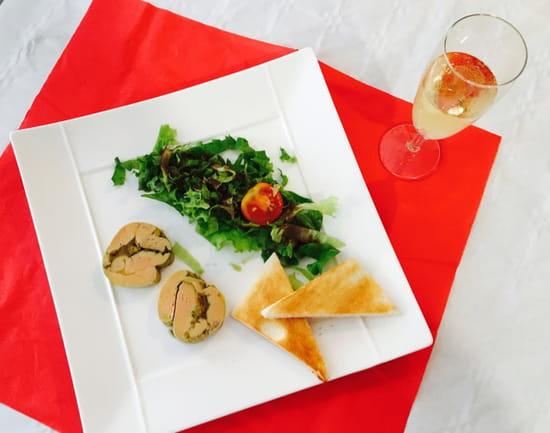 , Entrée : Le Mel'Laure  - Foie gras farci aux oignons confits... Une tuerie ! -
