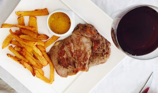 , Plat : Le Mel'Laure  - Entrecôte de chalosse et frites maison !!!  -