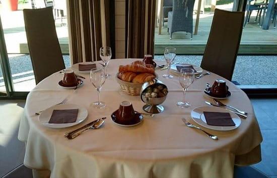, Petit-déjeuner : Le Millésime  - Table petit déjeuné! -