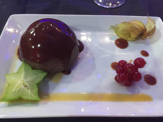 , Dessert : Le Mirefleurs Restaurant de L'Aerodrome