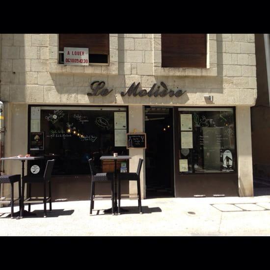 , Restaurant : Le Molière  - La façade  -
