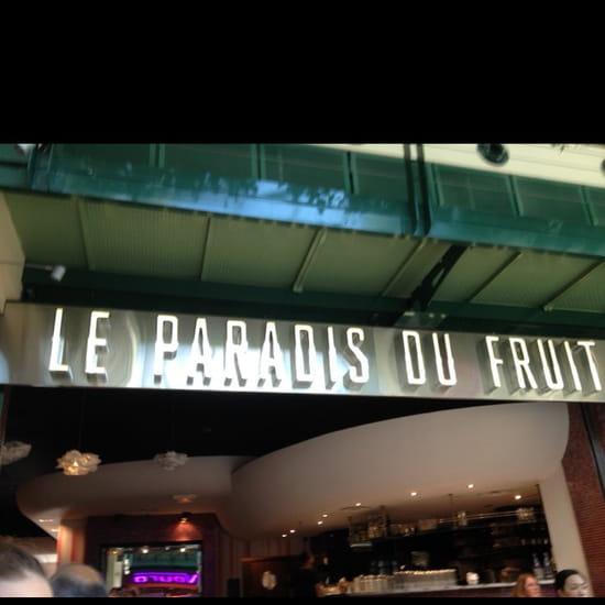 , Restaurant : Le Paradis du Fruit