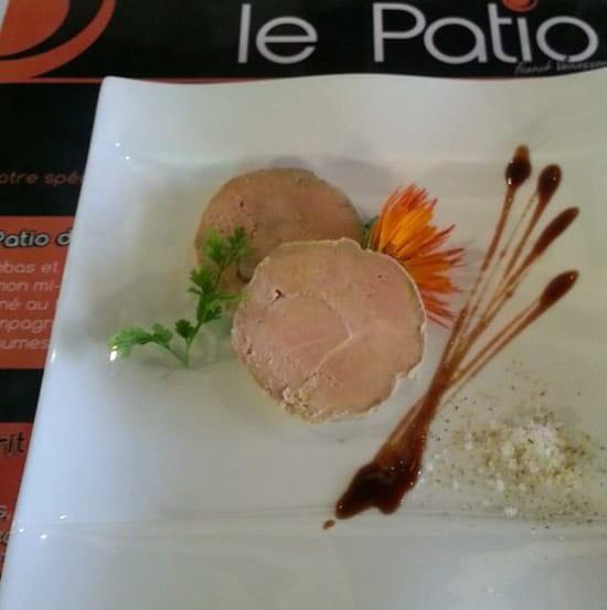 , Entrée : Le Patio  - Foie gras a la bière brune de Vezelay -