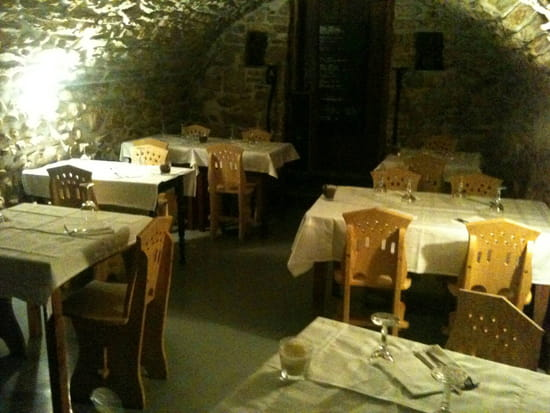 , Restaurant : Le Père Vincent  - La salle voûtée -