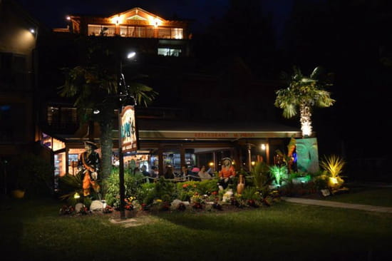 , Restaurant : Le Pirate  - Vue de nuit -
