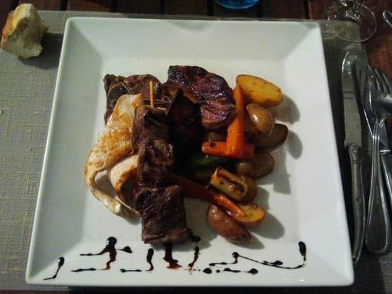 , Plat : Le Poséidon  - Parillade de viande -