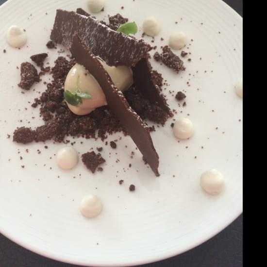 , Dessert : Le Pousse Pied  - Variation chocolat café  -