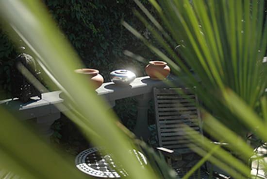 Le R  - Un coin du patio -