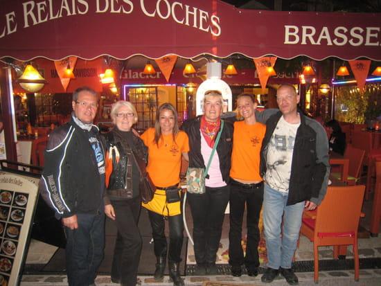 Le Relais des Coches  - Dernier repas avant le départ, nous reviendrons!!! -   © Les bikers