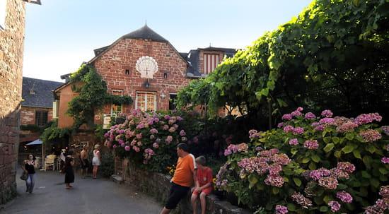 Le Relais Saint Jacques de Compostelle  - Vue de la Rue -   © derrien philippe