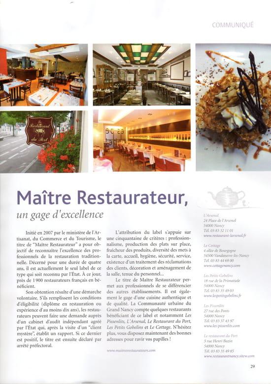 Le Restaurant du Port   © cd