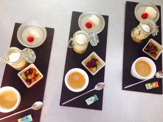 , Dessert : Le Rouge Ardoise