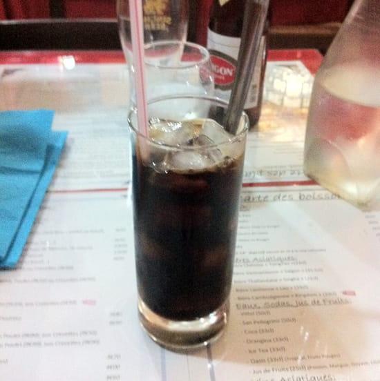 , Boisson : Le Saigon  - Ca Phe Da (café glacé) au café Trung Nguyen ! Comme à Saïgon ! -