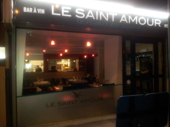 Le Saint Amour  - Enseigne du restaurant -