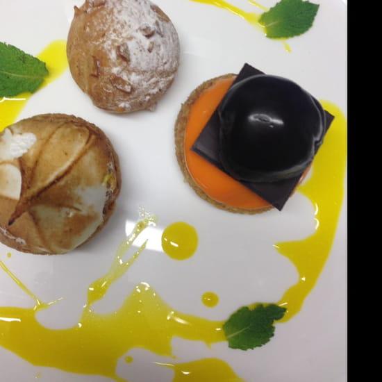 , Dessert : Le Saint-Fiacre  - Café gourmand  -