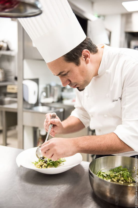 , Restaurant : Le Servan  - Notre chef Mathias Vila vous concocte de délicieux plats -   © Golden Tulip Sophia