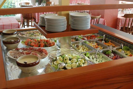 Le Texas Grill (Hôtel Le Grand Val**)  - Buffet de Hors d'Oeuvres -   © Directeur