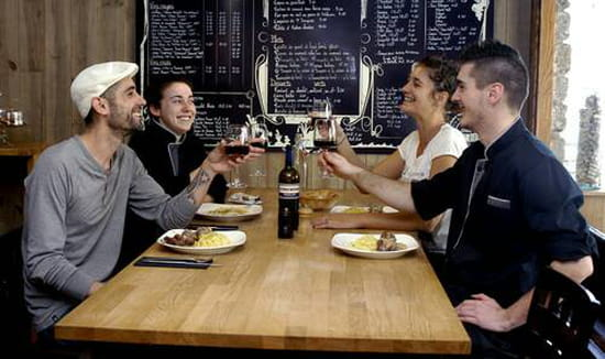 , Restaurant : Le Truc Bidule  - Equipe de Fred -
