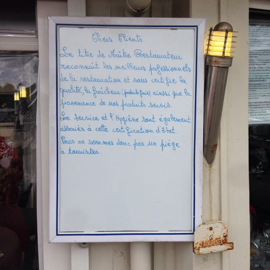 , Restaurant : Le Vieux Port
