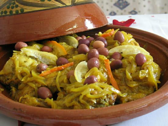 Leila le Restaurant  - Poulet olives citrons confits -   © Leila
