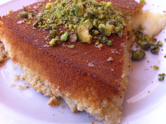 , Restaurant : Lemonot Cannes  - Dessert libanais -