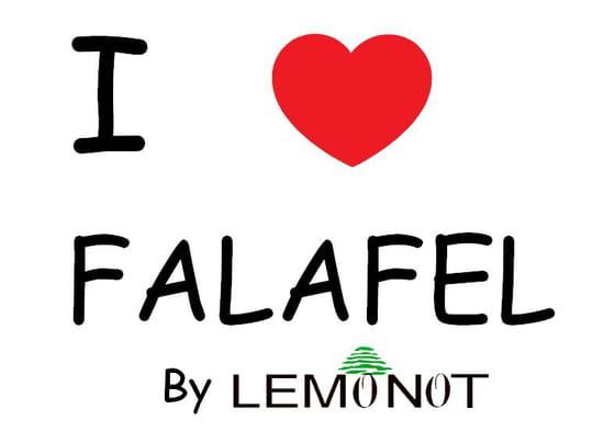 Lemonot Cannes  - I LOVE FALAFEL -   © LEMONOT