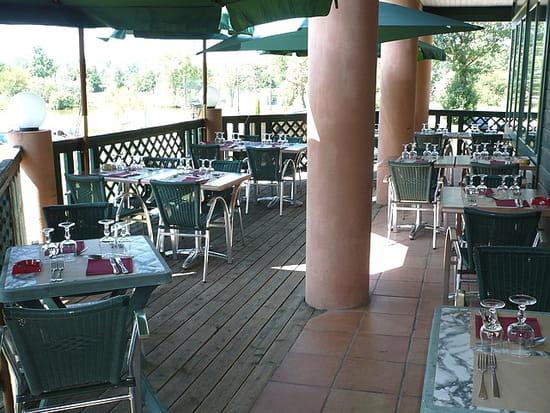 Les 12 Etangs  - la terrasse -