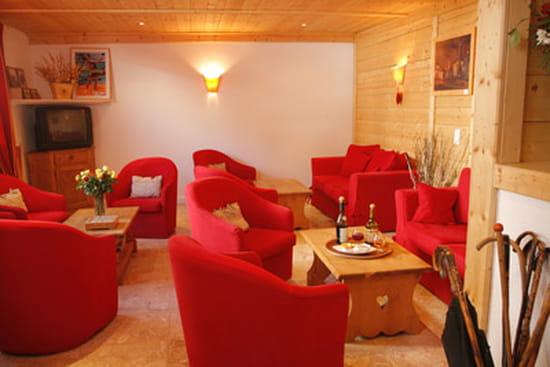 Les Arobiers  - Le salon -