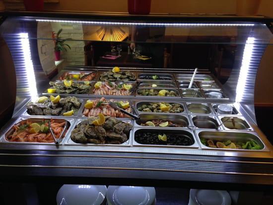 , Restaurant : Les Blés d'Or  - Buffet de fruits de mer  -