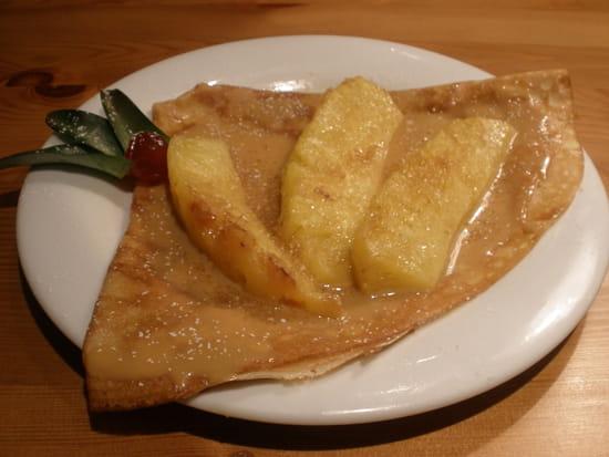 Les Blés d'Or  - ananas frais rôti,caramel au beurre salé de guérande -
