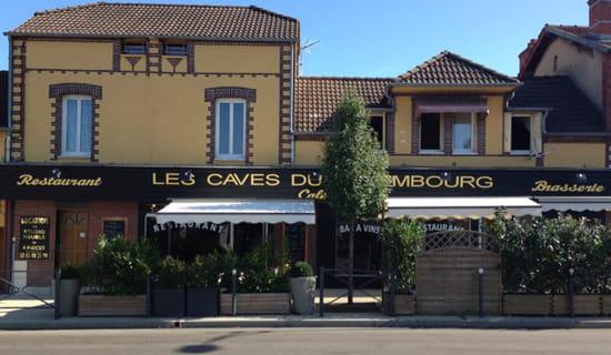 , Restaurant : Les Caves du Luxembourg  - La façade -