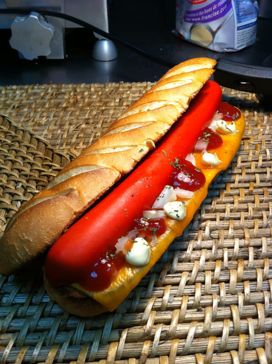 Les Choix d'Anna  - Le hot dog viennois 4,80€ -   © mediouni