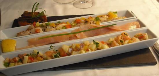 Les Cocottes Blanches  - Trilogie de saumons -   © Johanna