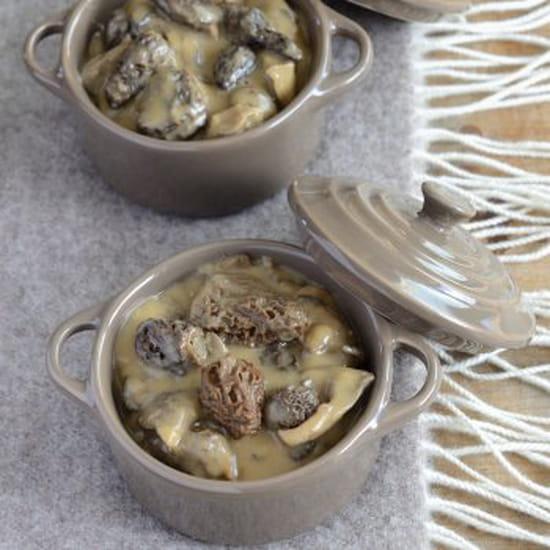 Les Cocottes Blanches  - cocotte de ris de veau -   © eugenie