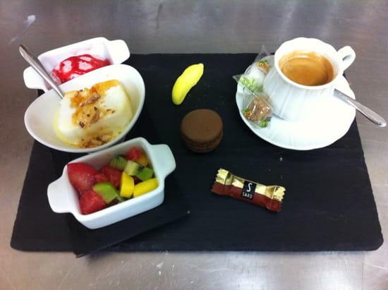 , Dessert : Les Fins Gourmets  - Café gourmand -