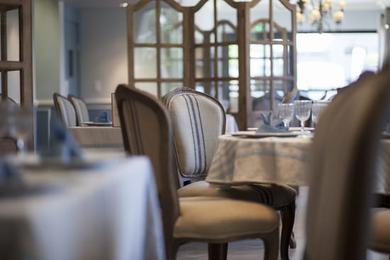 Les Jardins du Pastel  - Salle de restaurant Terre de Pastel -   © Terre de Pastel