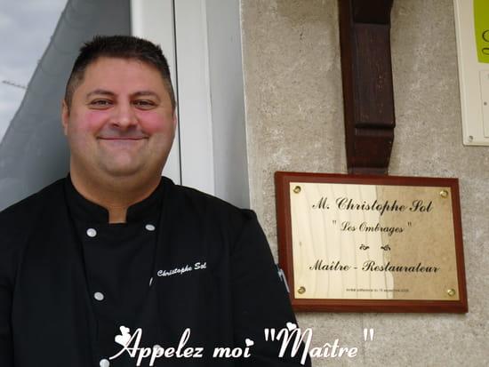 Menu Restaurant Les Ombrages Vibrac