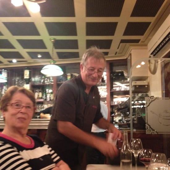 , Restaurant : Les Saveurs  - Le patron..;)) -