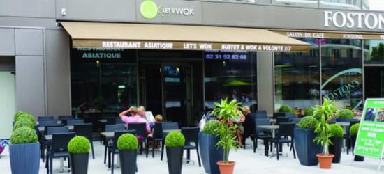 , Restaurant : Let's wok
