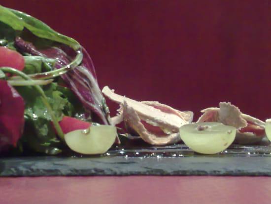 Loft Café restaurant  - Pinchos au Foie Gras mi-cuit Elusate -