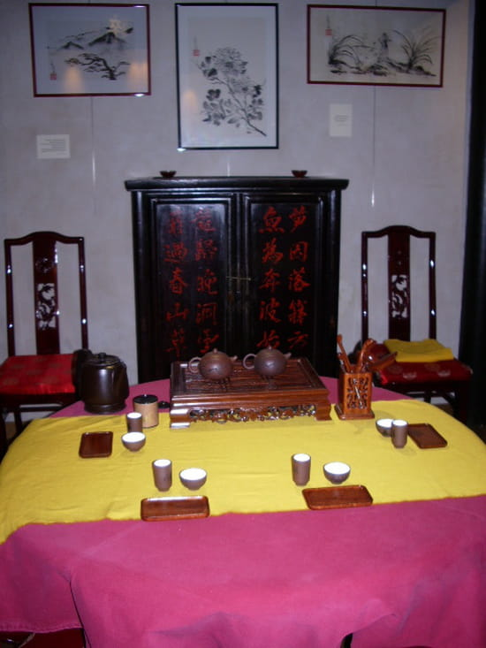 lu shan art du th restaurant chinois grenoble avec linternaute. Black Bedroom Furniture Sets. Home Design Ideas