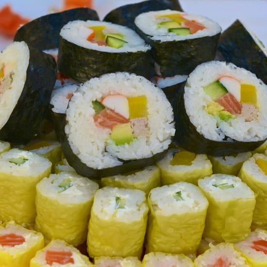 , Plat : Magic Sushi Nemours  - Makis -