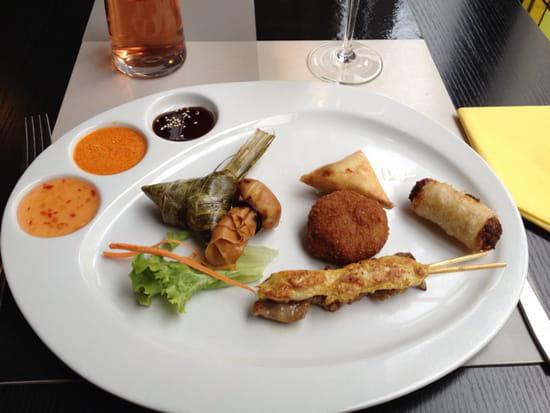 , Entrée : Mai Tai  - Assiette gourmande hmmm! -