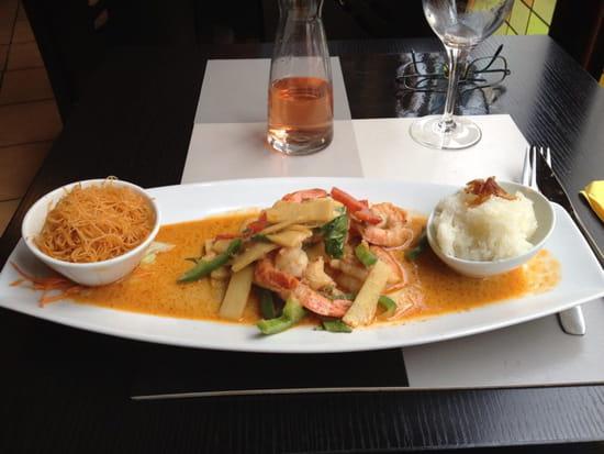 , Plat : Mai Tai  - Crevettes thaï  -