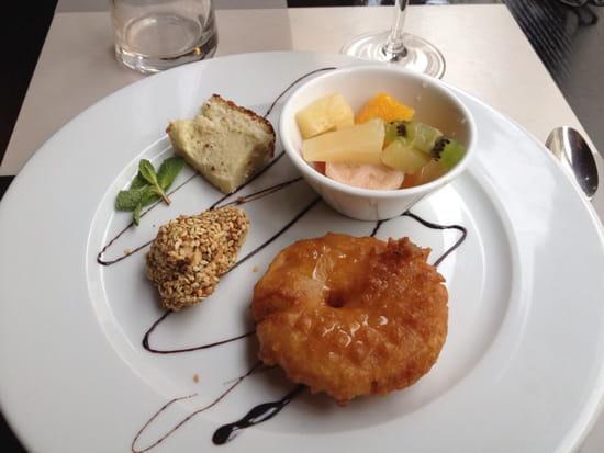 , Dessert : Mai Tai