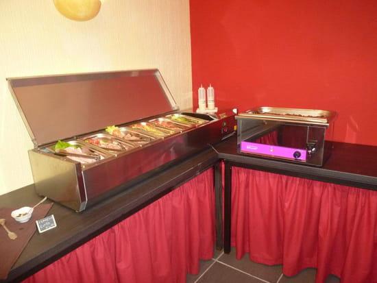 Marmites des Iles  - Le buffet froid -