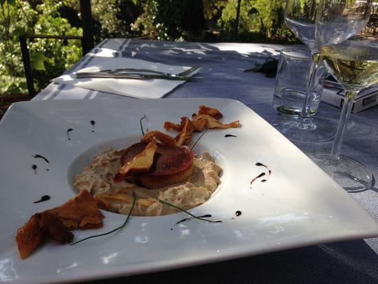 Mas Cambounet  - Soufflet aux girolles et tome de brebis -   © marina marcombe