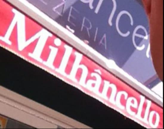 , Restaurant : Milanchelo  - Erreur  dans l orthographe  désolé ! Mais pas dans les notes ça je vous l assure !! -