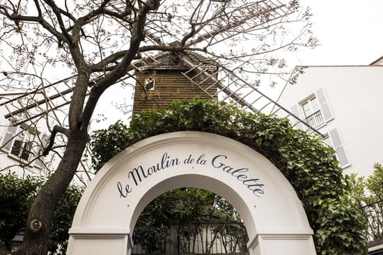Moulin de la Galette  - Le Moulin de la Galette -