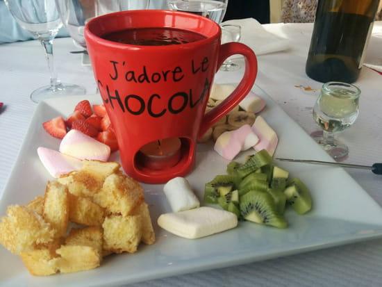 , Dessert : O Chalet  - Fondue chocolat ! -